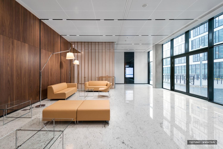 Gdański Business Center - Budynek C - wnętrze lobby