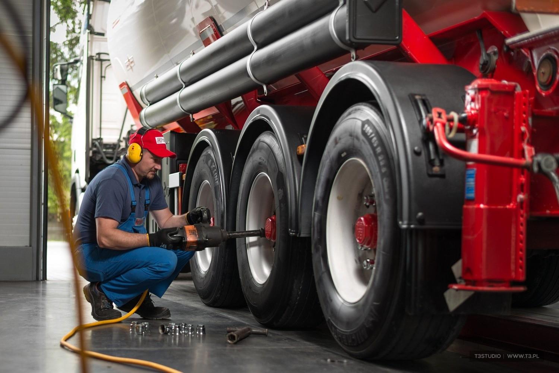 Sesja pojazdów ciężarowych firmy Ruta Transport