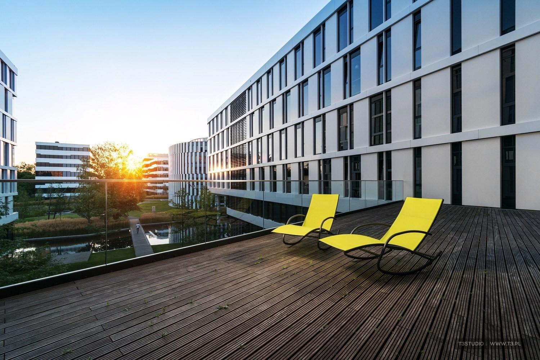 Biuro firmy Vivus w kompleksie Business Garden w Warszawie - fotografia wnętrz biurowych