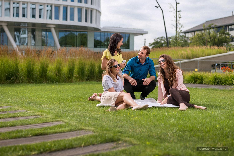 T3Studio - sesja biznesowa w ogrodzie Business Garden w Warszawie