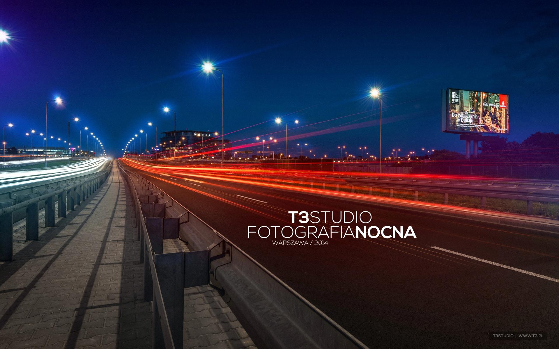 T3Studio - Fotografia nocna - Warszawa 2014