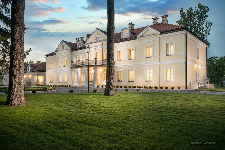 Hotel Sobienie Królewskie - fotografia architektury