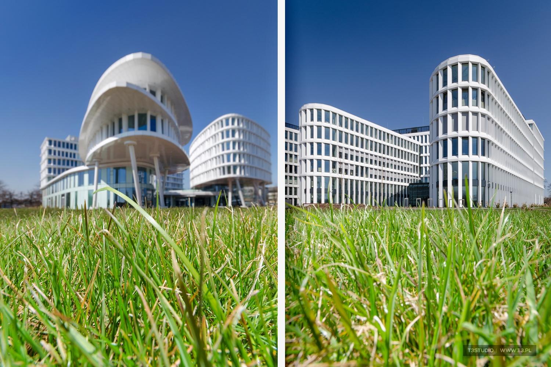 Business Garden Warszawa - fotografia architektury