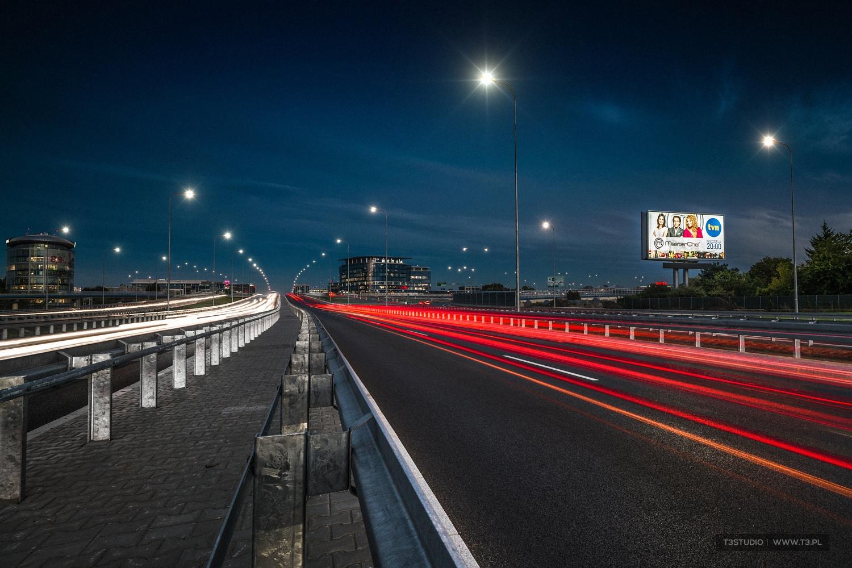 T3Studio Billboard - krajobraz miejski Warszawa Marynarska