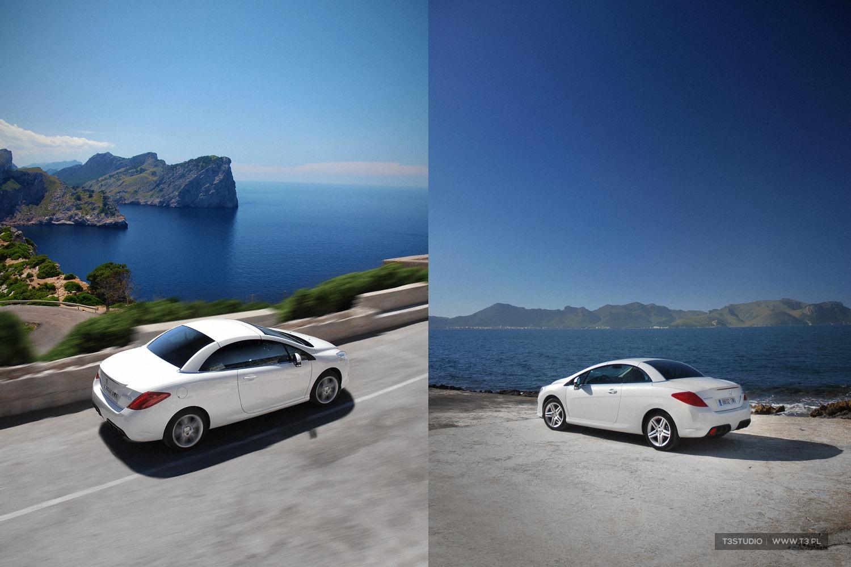 Peugeot, 308cc, cabrio, kabriolet, biały